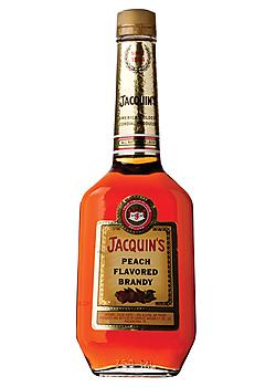 Jacquin Peach Flavored Brandy 70@